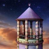 Rapunzel Kontrollturm Stockfotografie