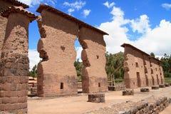 Raqchi, Περού στοκ εικόνα με δικαίωμα ελεύθερης χρήσης