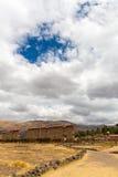 Raqchi, Inca archaeological site in Cusco, Peru Stock Images