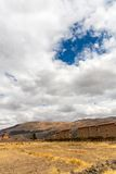 Raqchi, Inca archaeological site in Cusco, Peru Royalty Free Stock Photography