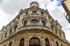 Raquel Hotel - Avana, Cuba immagine stock