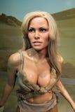 Raquel Welch-Wachsfigur stockbilder