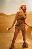 Raquel Welch waxwork figure Stock Images