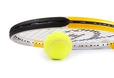 Raqueta de tenis Imagen de archivo libre de regalías