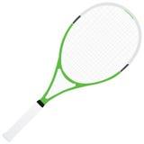 Raqueta de tenis Foto de archivo libre de regalías