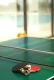 Raquetas y bola de tenis de vector Foto de archivo libre de regalías