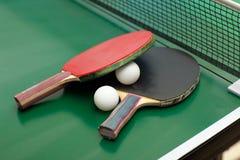 Raquetas y bola de tenis de vector Imagen de archivo