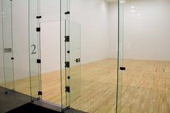Raquetball Sąd Zdjęcia Stock