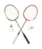 Raquete de badminton Imagem de Stock