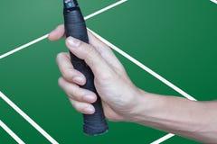 Raquete de badminton Imagens de Stock Royalty Free