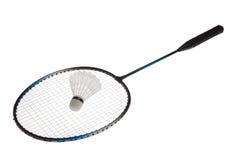 Raquete de badminton Foto de Stock
