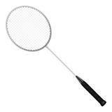 Raquete de badminton Fotos de Stock Royalty Free