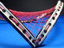 Raquete de badminton quebrada Foto de Stock