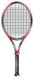 Raquete de tênis ilustração royalty free