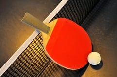 Raquete de tênis da tabela Foto de Stock