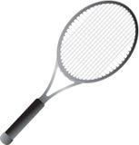 Raquete de tênis isolada Imagens de Stock Royalty Free