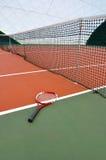 Raquete de Tenis Foto de Stock