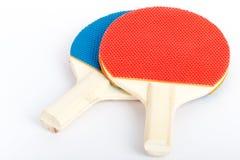 Raquetes de tênis de mesa Fotografia de Stock Royalty Free