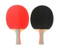 Raquetes de tênis de mesa Fotos de Stock Royalty Free