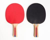 Raquetes de tênis de mesa Imagens de Stock