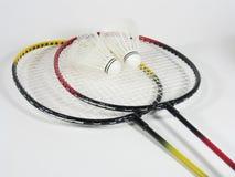 raquets badminton i стоковое изображение rf
