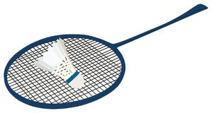 Raquette de badminton du badminton Sport Photos stock