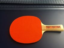 Raquette de ping-pong Image stock