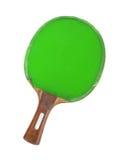 Raquette de ping-pong d'isolement sur le fond blanc Photos stock