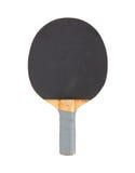 Raquette de ping-pong d'isolement sur le fond blanc Photographie stock