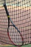 Raquette de tennis Photo stock