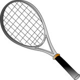 Raquette de tennis Images stock