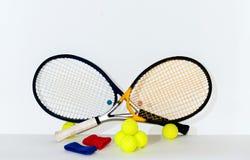 Raquette de tennis Photo libre de droits