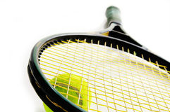 Raquette de tennis Images stock