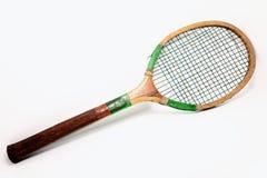 raquette de tennis en bois de vintage image stock image du strings mat riel 36061123. Black Bedroom Furniture Sets. Home Design Ideas