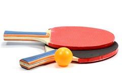 Raquettes de ping-pong image libre de droits