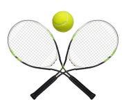 Raquettes de tennis Photographie stock libre de droits