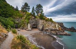 Rarangi Beach, New Zealand Stock Photo