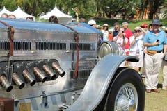 Rare Antique british car Royalty Free Stock Photo