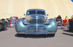 Rare Antique Car: 1941 Graham Hollyw. Supercharged. This Graham Hollywood was on exhibition at Goodguys Rod & Custom Association's 5th Spring Nationals on Royalty Free Stock Images