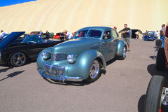 Rare Antique Car: 1941 Graham Hollyw. Supercharged. This Graham Hollywood was on exhibition at Goodguys Rod & Custom Association's 5th Spring Nationals on Stock Photos
