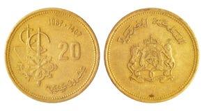 Rare arabian coin Royalty Free Stock Image