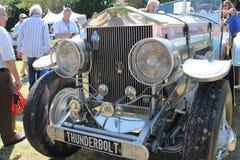 Rare bespoke Antique British car royalty free stock image