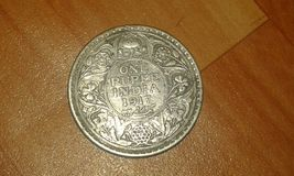 Rare coin of indian empire during british rule Royalty Free Stock Photo