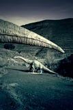 Rare dinosaur Stock Photo