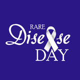 Rare Disease Day Stock Image