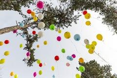 Rare diseases balloons Royalty Free Stock Image