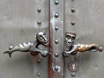 Rare door handles Royalty Free Stock Image
