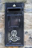 A rare Edward VII postbox stock image