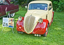Rare Fiat 500A Topolino. Rare 1946  Fiat 500A Topolino shown at the Historic Wheels Club Rally held at Brodie Castle, Forres on 12th August 2012 Royalty Free Stock Photography