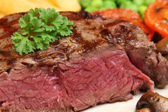 Rare Fillet Steak Royalty Free Stock Photos